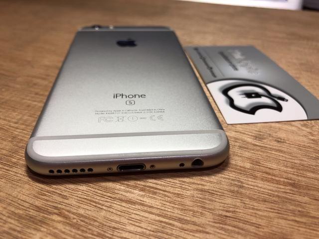 Iphone 6s 16gb sem detalhe, 8xR$129 no cartão - Foto 3