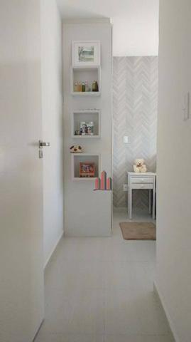 Apto 2 Dormitorios Mobiliado na Pedra Branca - Foto 9