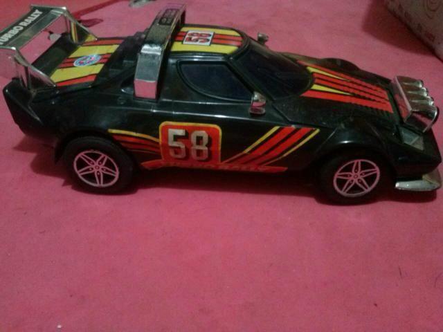 Turbo rally da estrela brinquedo anos 80