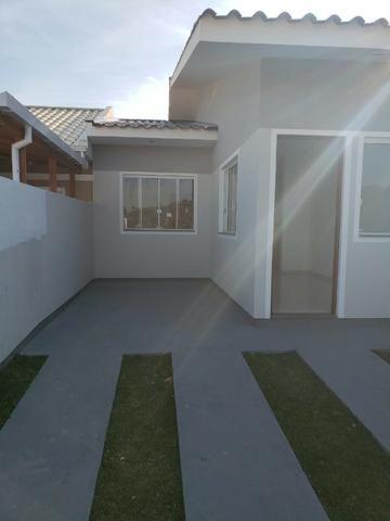 Linda Casa Geminada No Lot. Jardins 2 - Com Churrasqueira e Excelente Acabamento - Foto 13