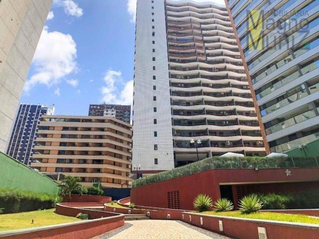 Apartamento com 2 dormitórios à venda por r$ 360.000 - praia de iracema - fortaleza/ce