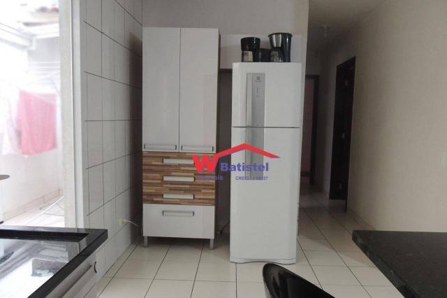 Casa com 3 dormitórios à venda, 50 m² por r$ 198.000 - rua jaguariaíva nº 288 - vila são j - Foto 7