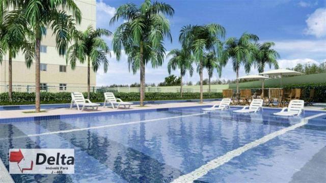 Varanda castanheira. apartamento com 2 dormitórios para alugar, 68 m² por r$ 1.650/mês - a - Foto 4