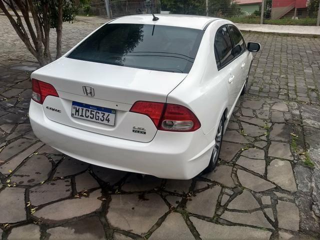 Honda Civic LXL 2010 Branco Manual - Foto 8