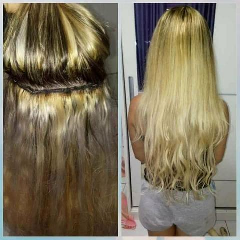 Colocacao e manutencao de mega hair - Foto 4