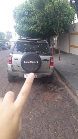 EcoSport XLT com banco de couro - Foto 3