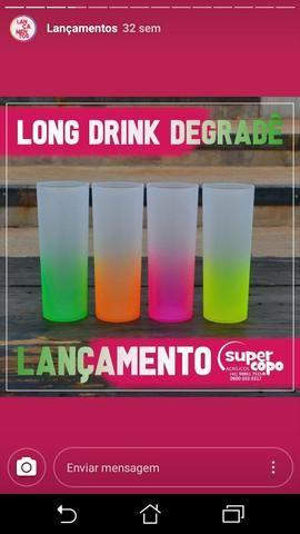 PROMOÇÃO copo long drink DEGRADE - Foto 2