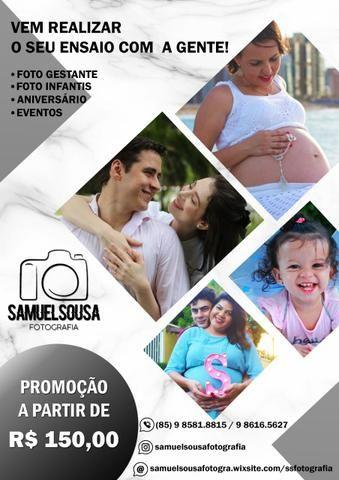 Ensaio Fotográfico - Promoção R$150,00