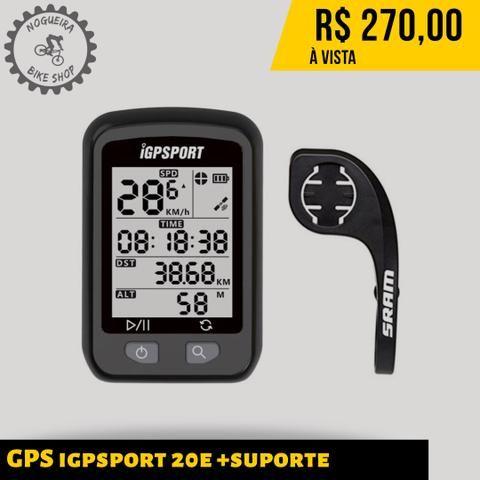 GPS igpsport 20e + suporte