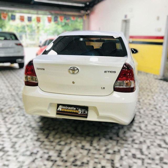 Etios sedan x 1.5 plus mec 19/20 carro impecavel - Foto 3