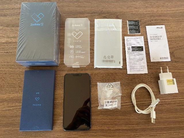 Asus ZenFone 5 ZE620KL Smartphone Dois Chips 64 gb Azul 4 GB ram - Usado