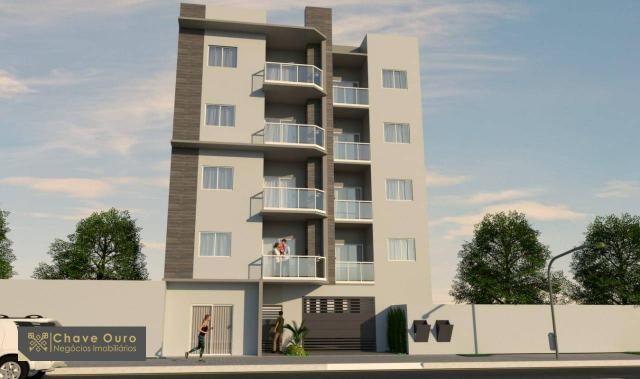 Apartamento à venda, 45 m² por R$ 181.000,00 - Jardim Santa Maria - Toledo/PR