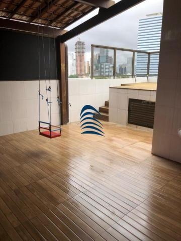 Belíssima Cobertura Duplex 4/4, 02 Suítes, 155 m² - Foto 4