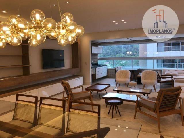 Belíssimo apartamento com 3 dormitórios à venda, 124 m² por R$ 837.585 - Canto do Forte -  - Foto 2