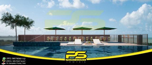 Oportunidade, apartamento, 02 suítes, piscina, 53,77m², por apenas R$ 389.563,65, em Bessa - Foto 6