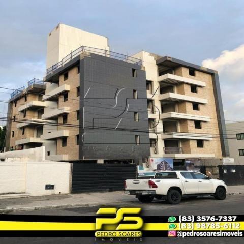 Apartamento com 2 dormitórios à venda, 60 m² por R$ 216.900,00 - Altiplano Cabo Branco - J - Foto 4