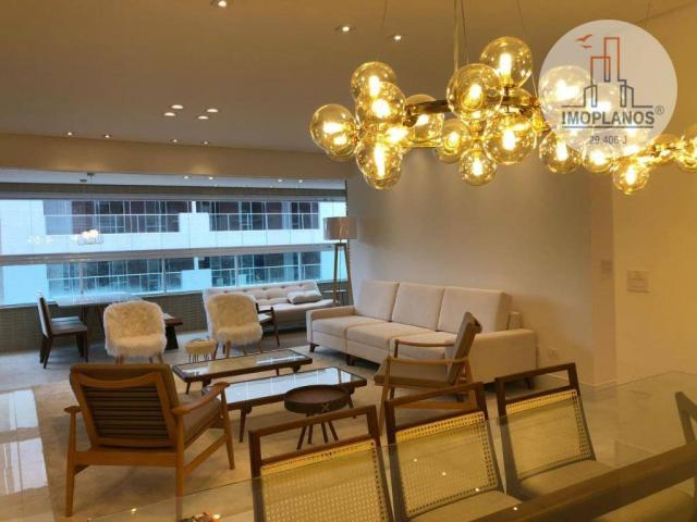 Belíssimo apartamento com 3 dormitórios à venda, 124 m² por R$ 837.585 - Canto do Forte -  - Foto 3