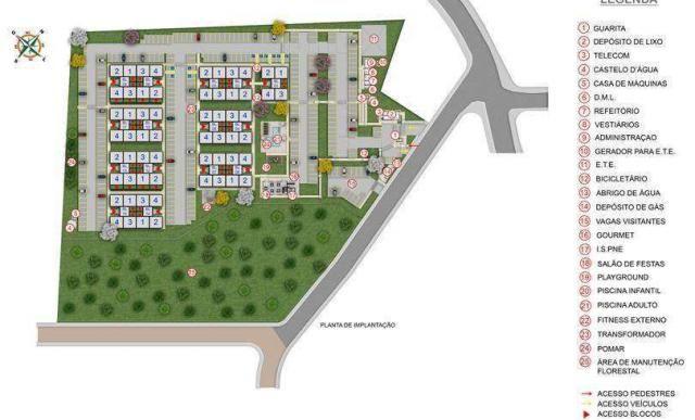 Parque Jardim di Stuttgart - Apartamento 2 quartos em Joinville, SC - 39m² - ID3977 - Foto 9