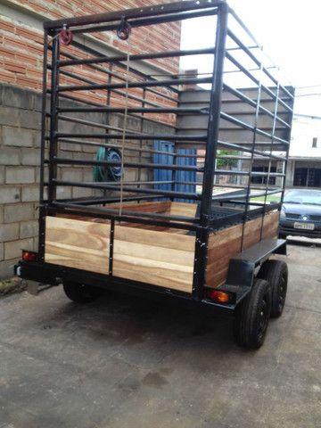Vendo carrocinha reboque  - Foto 4