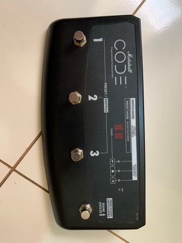 Cubo Marshall code 25 com footswitch - Foto 5