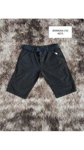 Bermudas e blusas masculinas - Foto 5