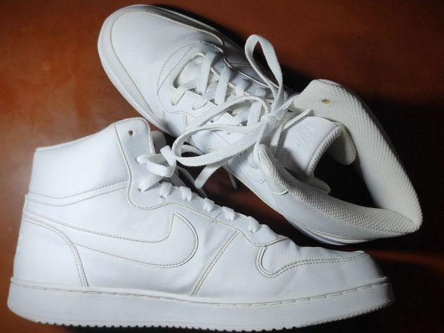 Tênis Nike Ebernon Mid Branco  - Foto 3