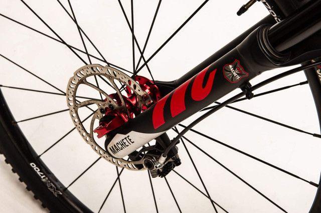 Bike carbono, aro 29 Tam 27,5 - Foto 2