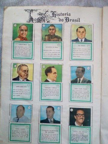 álbum de figurinhas História do Brasil anos 60 - edição 1966. Jabaquara - Foto 6