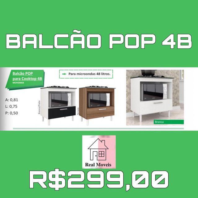 Balcão para cooktop fogão 4B