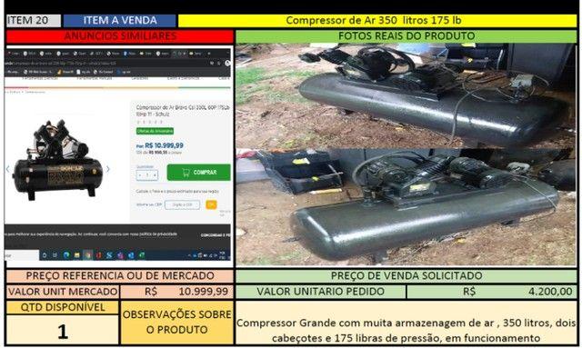 Compressor de Ar 350 litros 175 lb - Foto 3