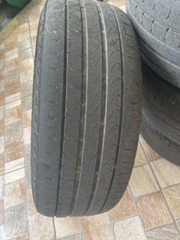 Vendo barato Rodas 17  5 furos zeradas do Honda Civic 2020 com pneus  - Foto 4