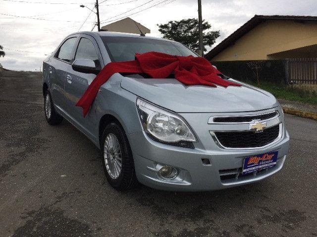 Chevrolet Cobalt Lt Flex 2013 Completo Automático - Foto 3