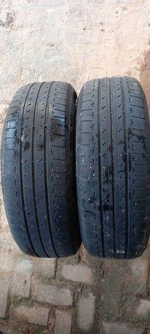 Vendo 2 pneus Aro15 da Bridgestone WhatsApp *00 - Foto 3