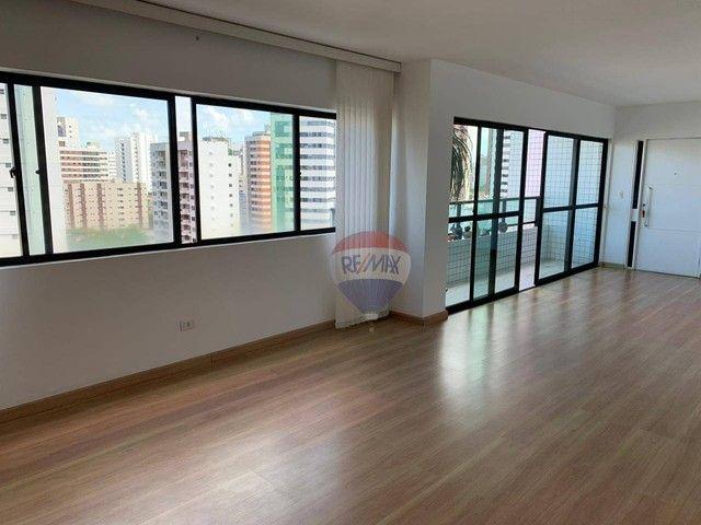 Apartamento com 3 dormitórios à venda, 130 m² por R$ 970.000,00 - Aflitos - Recife/PE