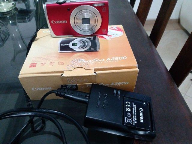 Máquina Fotográfica. Canon A 2500 16 MP. Nova. - Foto 4