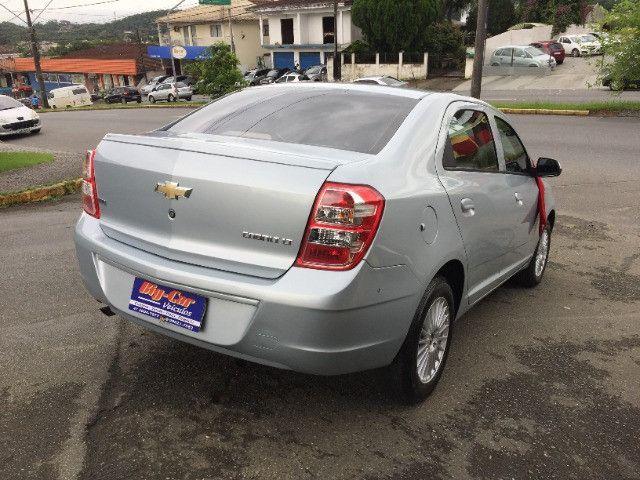 Chevrolet Cobalt Lt Flex 2013 Completo Automático - Foto 6