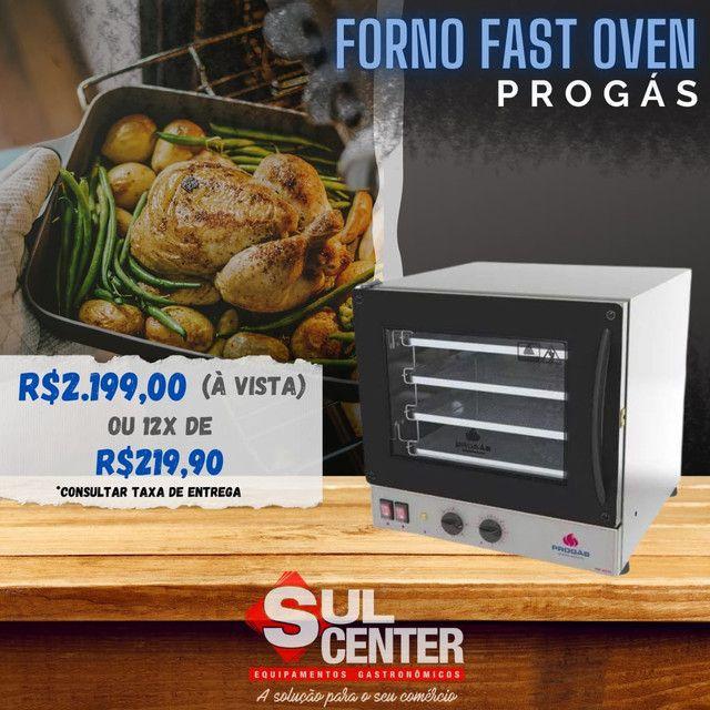 Forno Fast Oven elétrico Progás