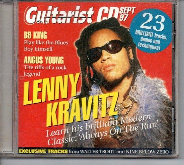 Revista Guitarist + CD com Backing Tracks (Setembro de 1997) - Foto 2