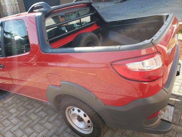 Fiat Strada Cabine Dupla, 3 portas, pouco rodada - Foto 5