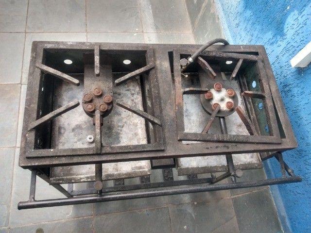 Fogão industrial 2 bocas - Foto 5