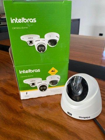 Nova na caixa - Vendo 10 câmeras dome Intelbras