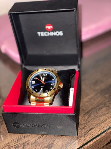 relógio techinos original NOVO