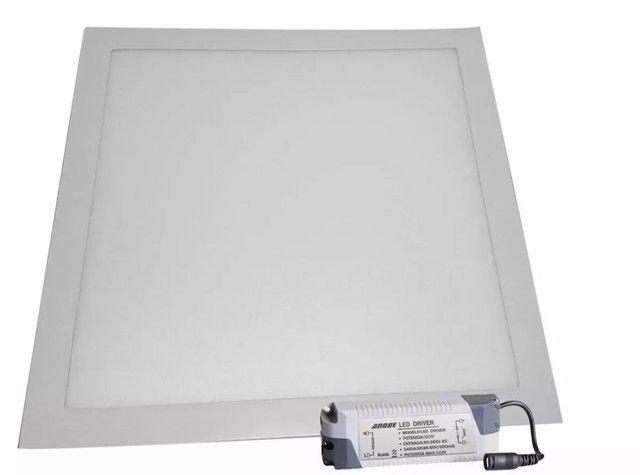 Painel Led 40x40 Luminaria   36w Embutir - Foto 4