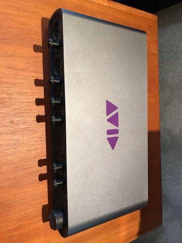 Placa de áudio m-box pro3 pro tools
