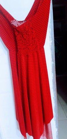 Vendo esse lindo vestido vermelho. - Foto 2
