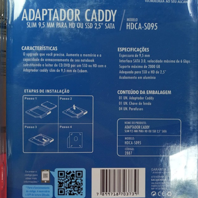 Adaptador caddy  - Foto 3