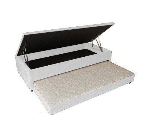 Base Box Baú 3/1 Com cama Auxiliar Solteiro.Compre direto da Nossa Fábrica 21-2764-9592 - Foto 3