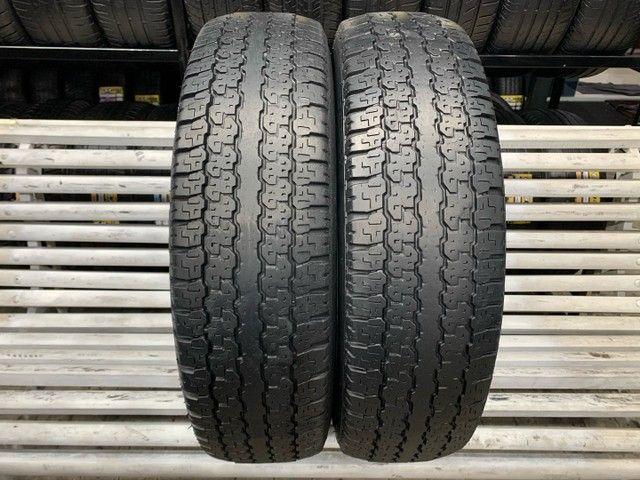 Par de Pneus 205R16C 110/108T Bridgestone Dueler H/T 689 / Pneus 205 R16 C
