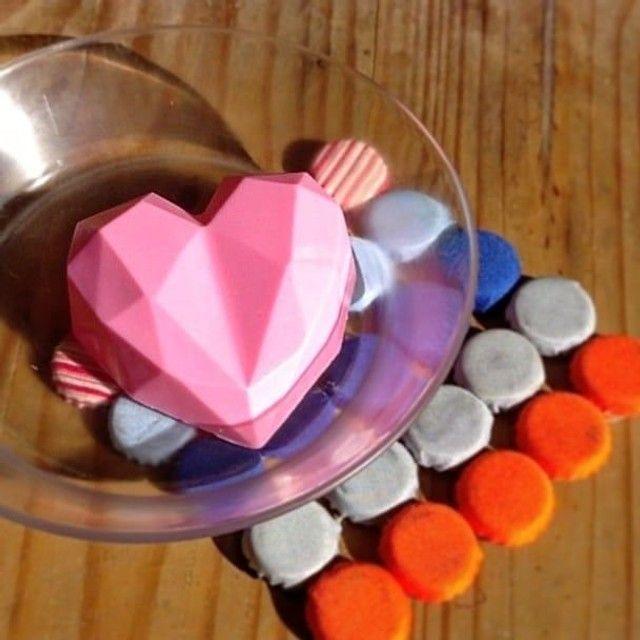 Coração lapidado surpresa dia dos namorados - Foto 2