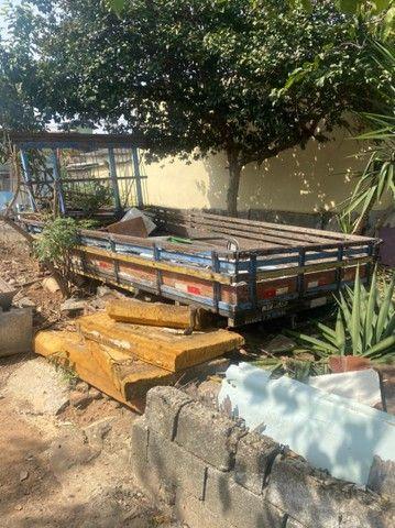 Carroceria de madeira caminhão 3/4 - Foto 4